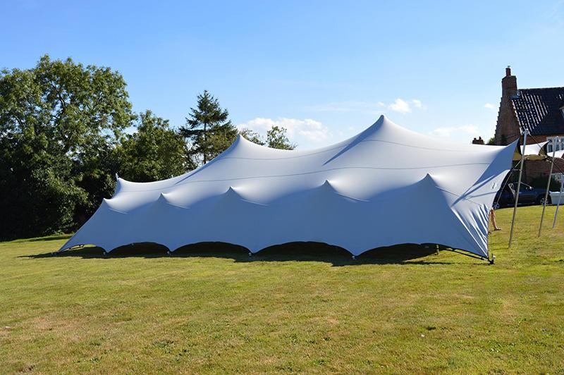 Norfolk stretch tent