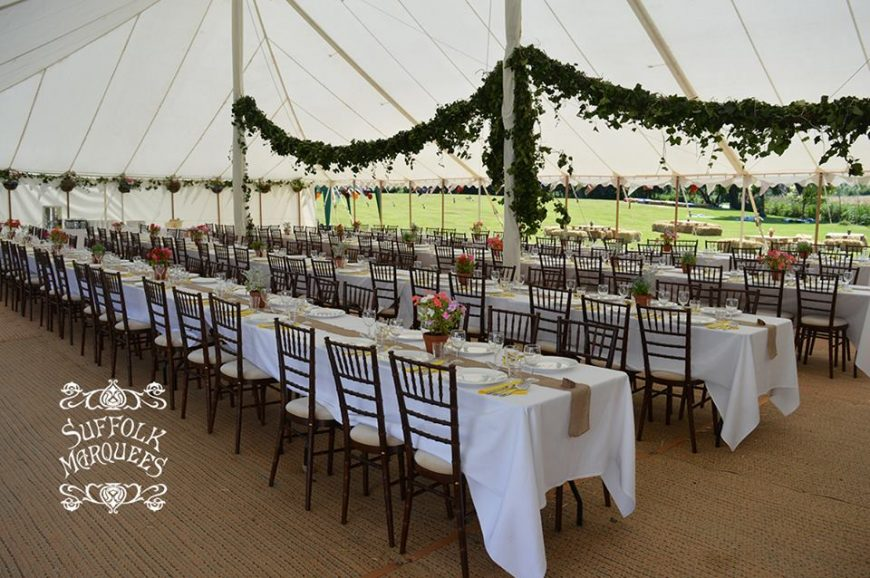 7 reasons you should hire a marquee for your Suffolk wedding