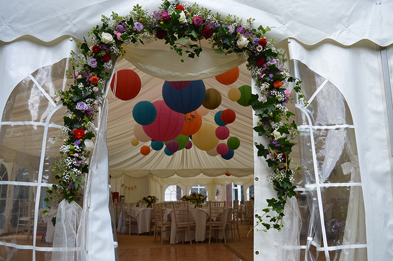 Suffolk marquee lanterns